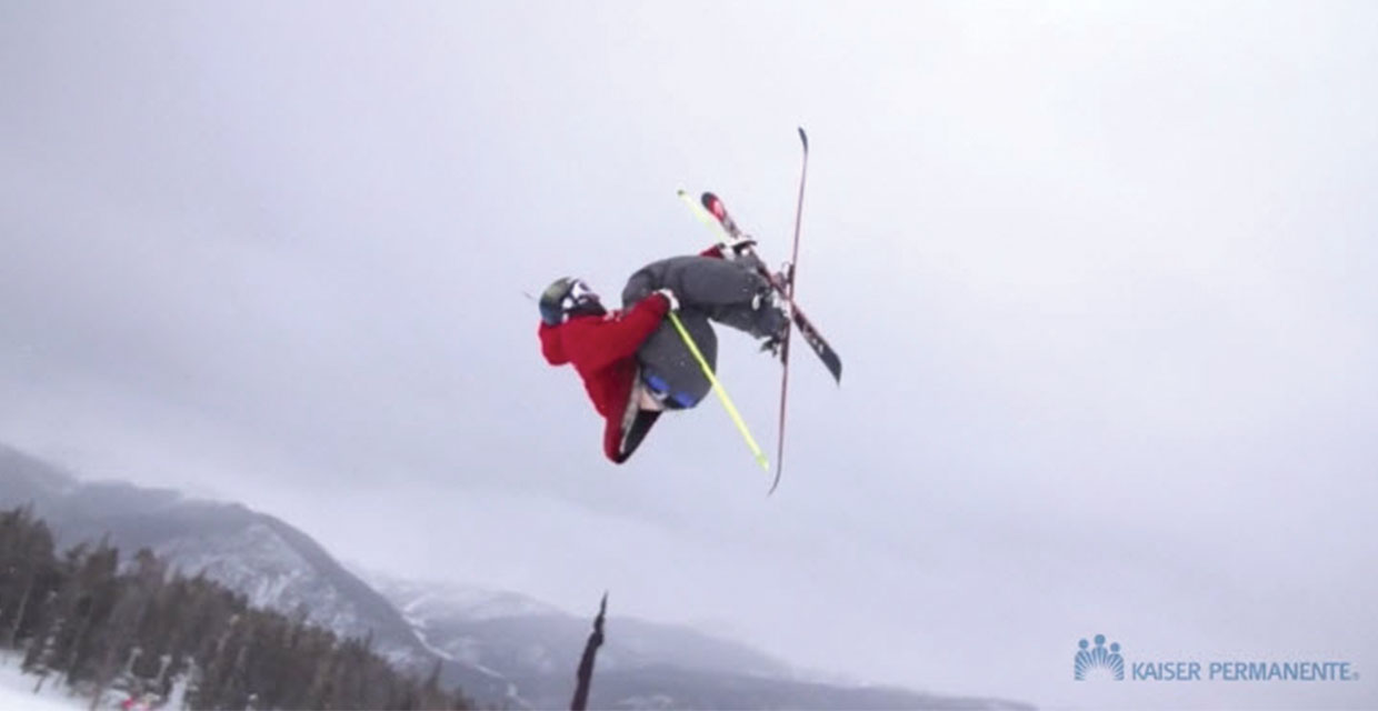Kaiser Permanente Care Gets Skier to Olympics | Kaiser Permanente